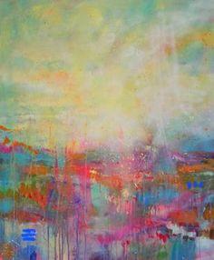 "Saatchi Art Artist Marta Zawadzka; Painting, ""Somewhere"" #art"