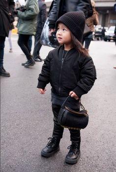 NYFW and Alexander Wang's little niece... CUTENESS!!