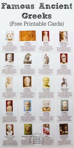 Ancient Greece Historical Figures