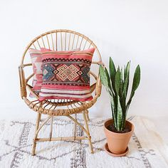 Mix and match decorative Kilim pillows. | 17 Ways To Make Your Home Look Like A Hippie Hideaway