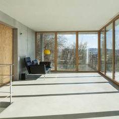 moderne häuser bilder: gol 2 - einfamilienhaus | 2! - Architekt Wohnzimmer