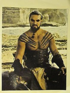 Jason Momoa Autographed Signed 11X14 Photo COA 'Game Of Thrones' Khal Drogo
