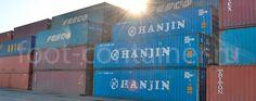 Хранение морских контейнеров в Спб, цены на хранение в порту