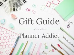 Planner Addict Holiday Gift Guide by Label Me Merrit