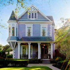 Exterior House Colors Victorian Towers New Ideas Victorian Architecture, Architecture Details, Exterior House Colors, Exterior Design, Future House, My House, Victorian Style Homes, Victorian House Plans, New Orleans Homes