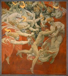 Orestes Pursued by the Furies by John Singer Sargent, 1921