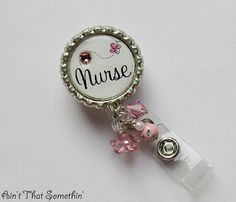 Sweet and Simple Nurse Sentiment Retractable by AintThatSomethin, $10.00