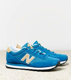 Blue New Balance 501 Sneaker