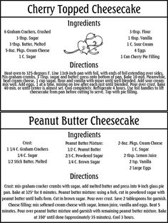 You can purchase these recipes along with the other 10 Categories for only $5.00. When you purchase these files, you will receive (via perso...