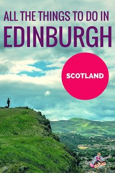 Looking for all the things to do in Edinburgh? Jump right in and pick the best for you to make your Edinburgh trip one to remember. Edinburgh Travel, Scotland Travel, Ireland Travel, Scotland Trip, Europe Travel Tips, Travel Guides, Travel Destinations, Travel Uk, European Travel