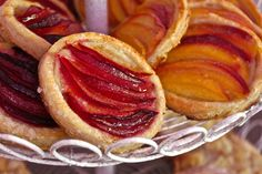 Puff Pastry Tartlets with Fresh Plums or Fresh Nectarines