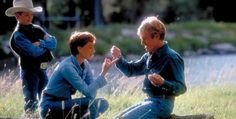 The Horse Whisperer starring Robert Redford, Kristin Scott Thomas and Scarlett Johansson is given a beautiful transfer onto Blu-ray Robert Redford Movies, The Horse Whisperer, Kristin Scott Thomas, True Detective, Horse World, Great Films, Love Movie, Horse Photography, Movies And Tv Shows