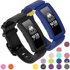 GVFM Compatible with Fitbit Ace 2 Bands for Kids 6+, Soft Silicone Bracelet Accessories Sport Strap Boys Girls Wristbands Compatible for Fitbit Ace 2 – My Blog Silicone Bracelets, Sweat Proof, Workout Accessories, Silicone Rubber, Fitness Tracker, Stainless Steel Watch, Watch Bands, Smart Watch, Boys