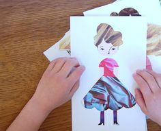 DIY: Fashion Paper Dolls - giddygiddy