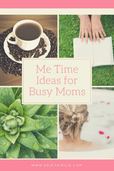 "As mothers, we tend to put our families first, which leaves us last. We need to remember that it's alright to take some ""me"" time daily."