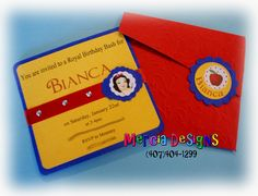 266 - Snow White Invitation | Flickr - Photo Sharing!