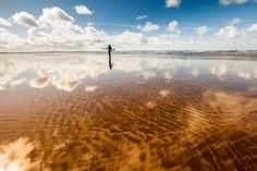 Mirror beach in Devon Devon, Celestial, Sunset, Mirror, Beach, Outdoor, Outdoors, Seaside, Mirrors
