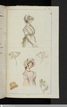 Journal des Luxus und der Moden › Neunzehnter Band. Jahrgang 1804. › Journal des Luxus und der Moden. › Julius 1804. › Abschnitt T19