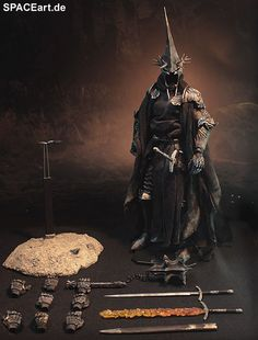 Herr der Ringe: Morgul Lord, voll bewegliche Deluxe Figur ... http://spaceart.de/produkte/hdr001.php