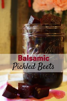 Balsamic Pickled Beets