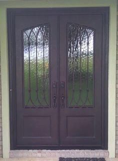 Custom Iron Doors - Doors by Design - Alabama and Mississippi & Abby Iron Doors | Delightful Doors | Pinterest | Doors Iron and ...