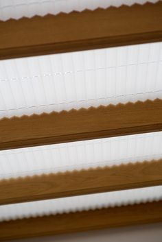 Grand Design Blinds' Plisse Pleated Blinds in a Timber Conservatory