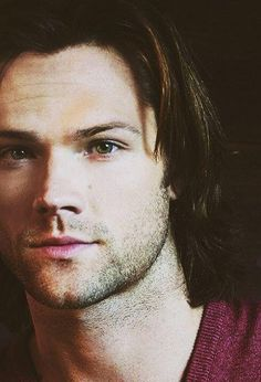 Jared Padalecki/Sam Winchester, and those beautiful hazel eyes of his...