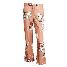 QUIZ Black /& Cream Contrast Palazzo Trousers Pantaloni Donna