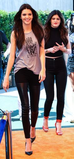 Kylie Jenner and Kendall Jenner - Celebs Attend Wango Tango in Carson