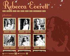 Rebecca Everett website - Design by Janine Stoll Media - www.janinestollmedia.com