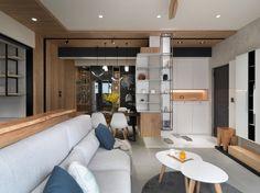 空間設計與裝潢 - 【開箱】老屋翻新 / 現代休閒人文風--住辦合一宅 - 居家討論區 - Mobile01
