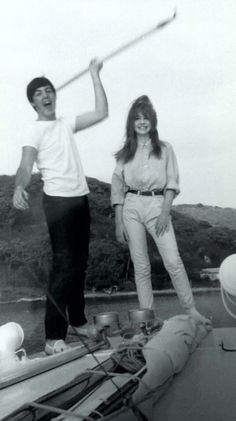 Paul McCartney and Jane Asher.