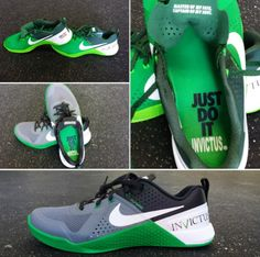 Debuting in early 2015 - the custom Invictus Nike MetCon shoe for CrossFit.