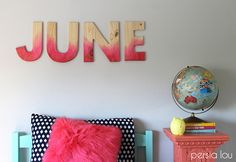 15 Ways to Decorate Wood Letters | Pat Catan's Blog