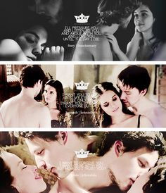 Reign | Married Couples :  [Francois de Valois and Mary Stuart] [Lady Kenna and Sebastian de Poitiers] [Lord Julien/Remy and Lady Lola]