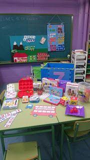 El pupitre: Nuestro material de mates (ABN) Teacher Binder, Math For Kids, Math Centers, Montessori, Teaching, Activities, College, Games, School