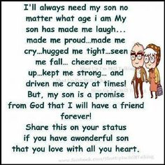 I feel this way about all 5 of my sons and my daughter!i am so proud of all of them!!!!!