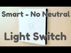 IIf you want to upgrade your light switches to smart switches you are going to need a live and a neutral wire to connect these switches up. If you live in th. Electrician Work, Emergency Electrician, Light Switches, Alexa Echo, Emergency Call, Electrical Tape, Neutral, Connect, Cable