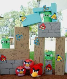 Angry Birds giant game