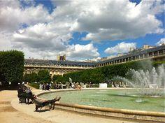 Palais Royale in June