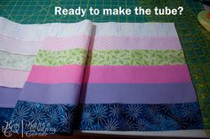 Bargello - How to, Part 1