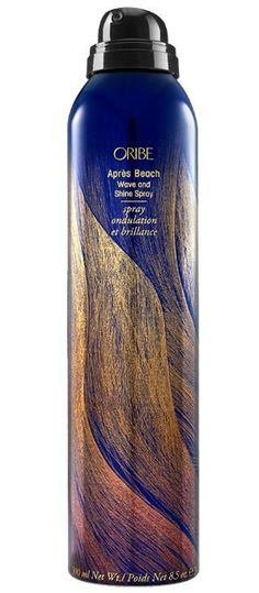 ORIBE Apres Beach Wave And Shine Spray, $39, Amazon It's no secret that Oribe makes some pretty great hair products. And the Beach Wave and Shine Spray is no different. Give your hair the beachy waves you love, without drying them out. The spray is loaded with moisturizing benefits that will help you avoid salty-stiff hair that can sometimes happen with salt sprays (this one doesn't even contain salt!). Plus, it will protect your hair from harmful UV rays.