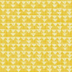 Yellow Fabric, Bloom by Quilting Treasures, Yellow Maize Geometric, Floral Fabric, Graphic Fabric 10195
