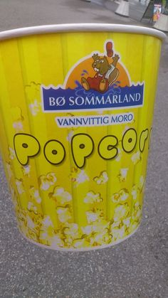 Tusenfryd,  Popcorn <3