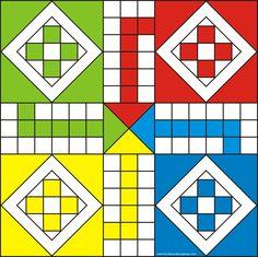 Ludo Game Board (Full Board)