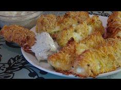 Необыкновенно вкусные кабачки в сырной панировке!