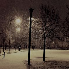 Cold night in Glasgow