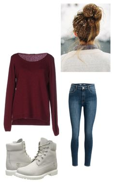 """""""Meeting Charles Again"""" by maryvarleyrox ❤ liked on Polyvore featuring Fred Perry and Timberland"""