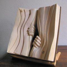 Book Patrol: The Wooden Books of Nino Orlandi