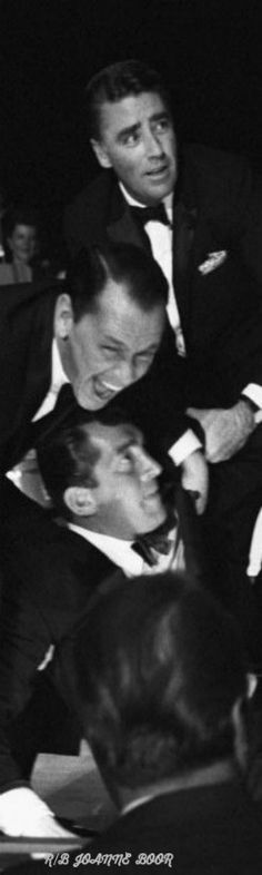 THE RAT PACK LAUGHING....... DRUNK AS HELL IN VEGAS../LOL